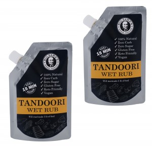 Tandoori Wet Rub Marinade 10oz (2 PACKS of 5oz)